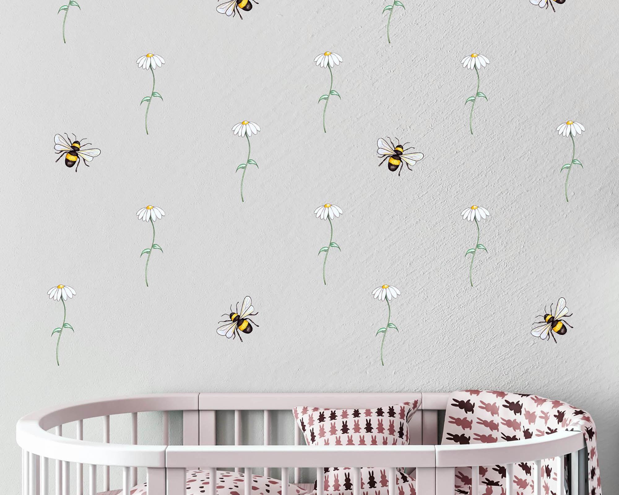WD- Daisy & Bees-Main image